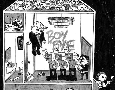 Boy Bye - Political Illustration