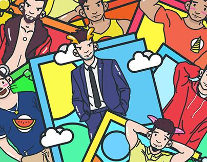 Blued gay Social H5