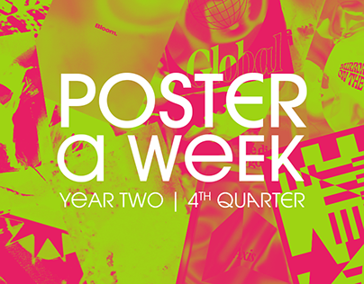 Poster a Week   Year Two (4th Quarter)