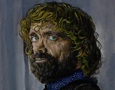 Acrylic Portrait - Tyrion Lannister