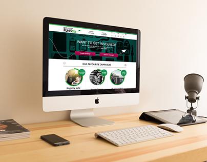 Ready Fund Go - Website Design