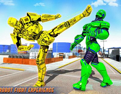 Robot VS Robot Wrestling
