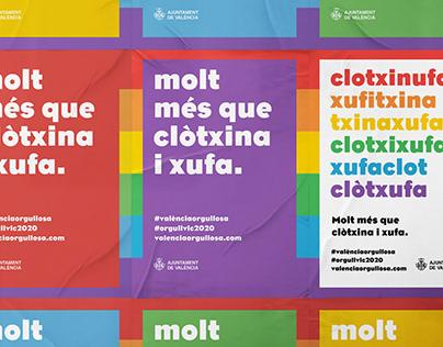 Campaña Orgullo LGTBI 2020 Ajuntament de València