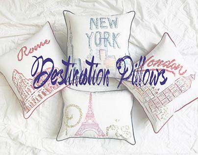 Destination Pillows