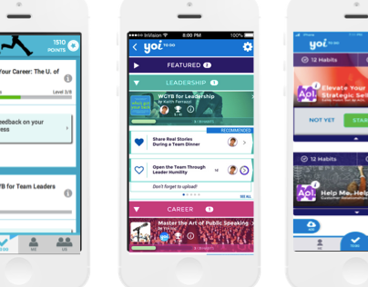 Yoi App : Product Design