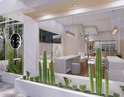 Rumah Temu Coffeeshop & Resto Cafe Design Concept