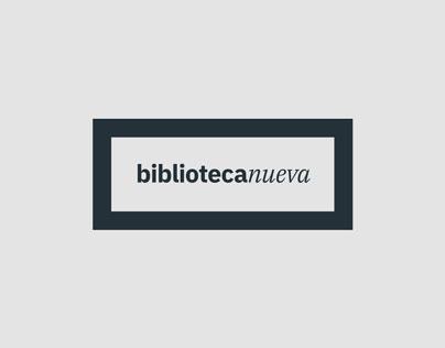 Biblioteca Nueva - Diseño de identidad