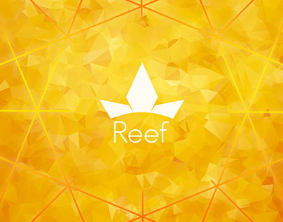Reef - Cannabis business concept. web design.
