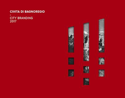 """CITY BRANDING// Thesis project """"Civita di Bagnoregio"""""""