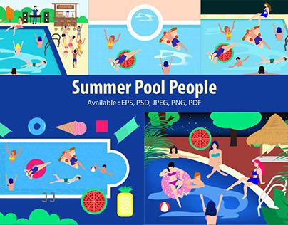 Summer Pool People