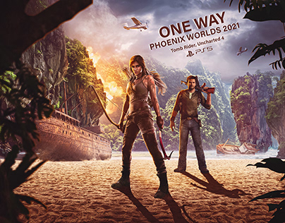 PHOENIX WORLDS 2020 Tomb Rider, Uncharted 4
