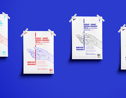 Kemet Art & Design Awards: Service Design Posters