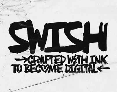 AN Swish Font