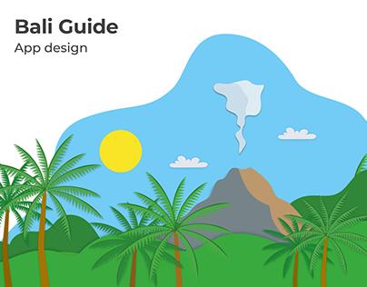 UX/UI Design: Bali Travel App