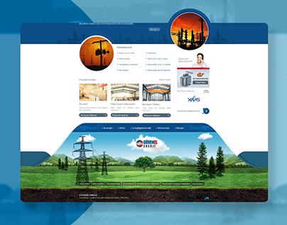 Güveniş Enerji Website Design
