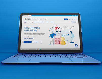 Website UI & Illustration Design