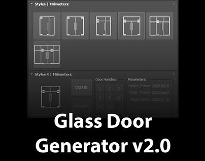 Glass Door Generator v2.0