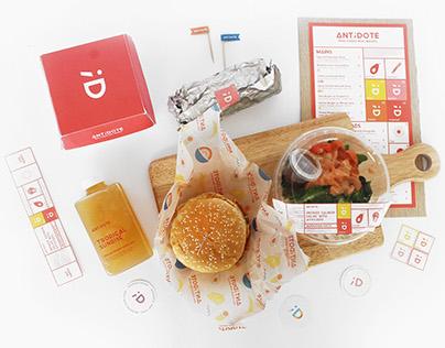 Antidote Real Foods Real Moods Branding
