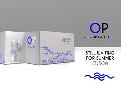 OP pop-up gift shop concept