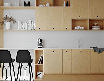 Sardine — 15 m² studio apartment for a student