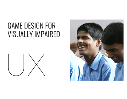 UX - Game design for visually impaired