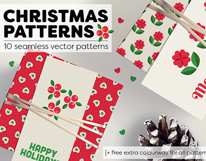 Hearty Christmas Pattern Collection