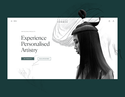 Web Design: Ecommerce Website for Hairdressing Brand