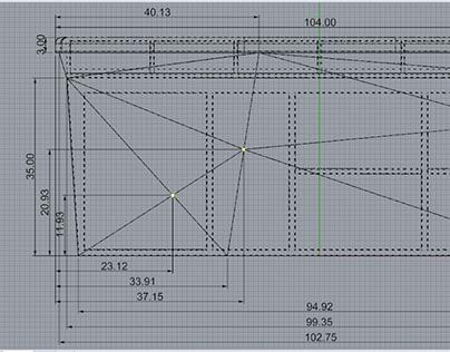Bar Design: Technical Drawings