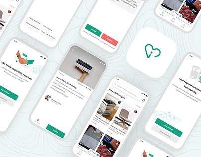 Insan - donate your stuff app