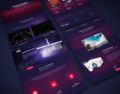 Shopify one product store landing page design