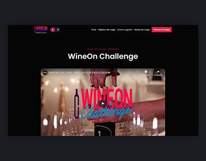 WineOn | Website, UI/UX