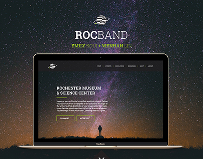 RocBand - UX, Web & Product Design