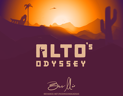 Fan Art Alto's Odissey