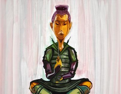 Illustration: Idol