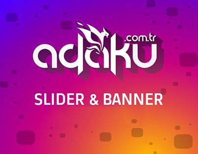 Slider &Banner