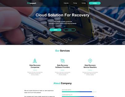 UI Website Recovery company
