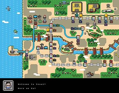 8-Bit Seoul City