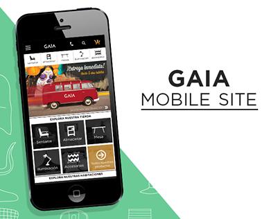 Gaia Mobile site