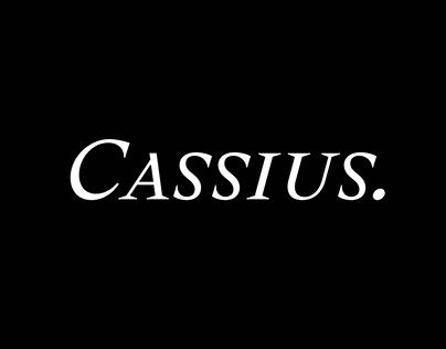 Cassius Typeface