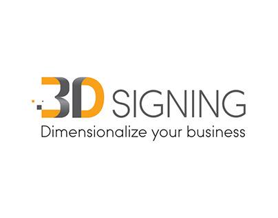 3DSigning - Logo, huisstijl en e-mailing