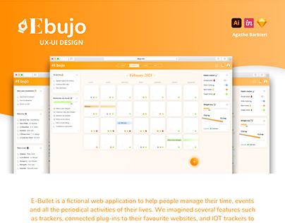 2020 . EBUJO - UX/UI DESIGN - DIGITAL BULLET JOURNAL