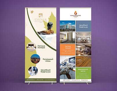 Roll-Up Banner Design for Hotels