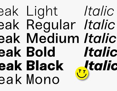 Sneak Typeface