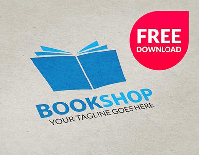 Free Book Shop Logo (.PSD)