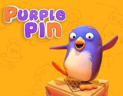 Purple Pin