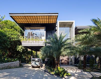 Tres Amores House in Nosara, Costa Rica by Studio Saxe