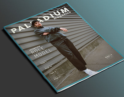 ROLE MODEL - Palladium Magazine Mockup