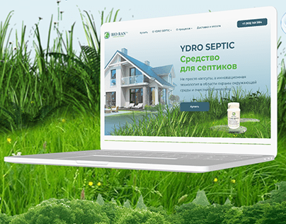 Landing page - Ydro Septic
