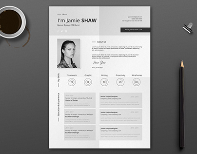 Francis Resume Template