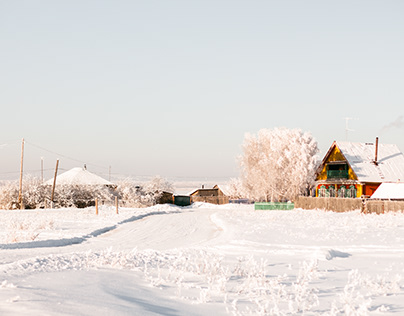 -35 degrees in Siberia